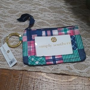 Simply southern key chain i.d. wallet